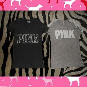 Victorias Secret Pink T-shirt Bundle